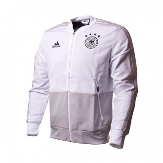 Chaqueta  adidas Previa Alemania 2017-2018 White-Grey