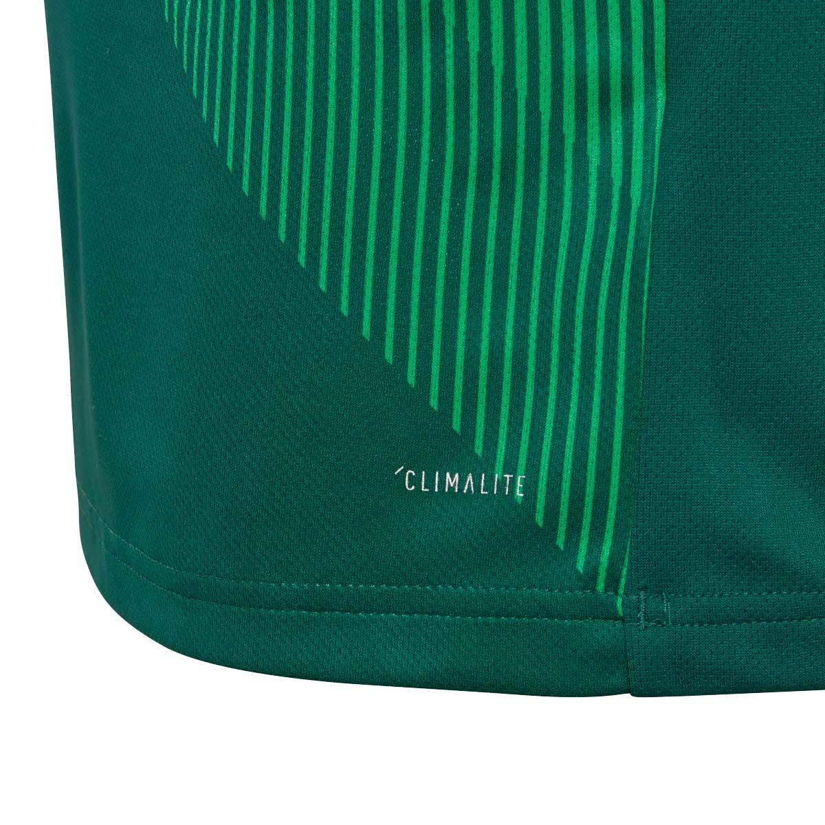 30cab32e1d1 Jersey adidas Mexico 1st Kit 2017-2018 Kids Collegiate green-White -  Football store Fútbol Emotion