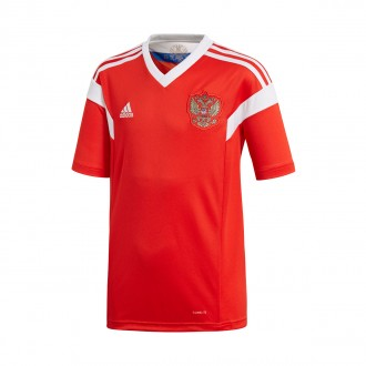 Jersey  adidas Kids Russia 2017-2018 Home Red-White