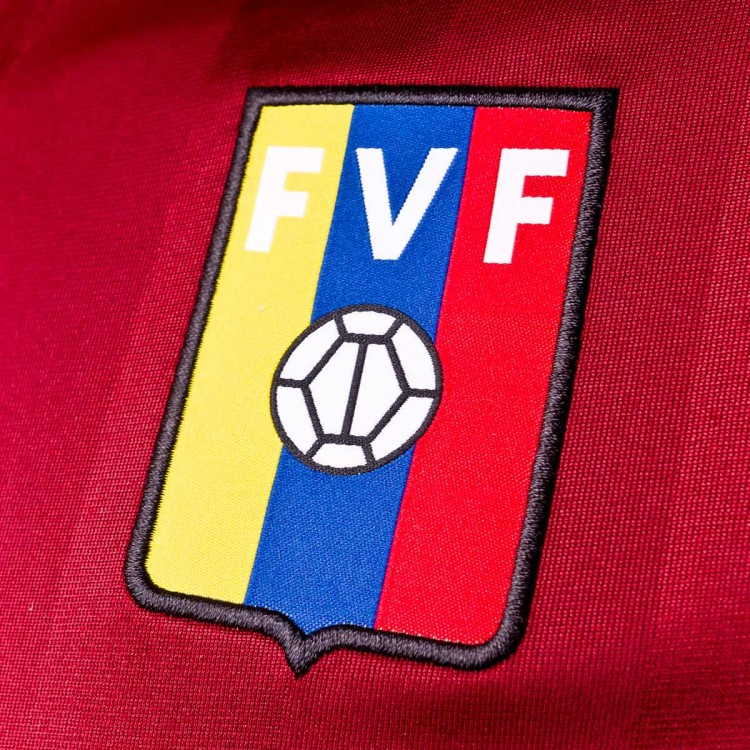 087f950ab8d4f Jersey adidas Venezuela 2017-2018 Home Collegiate burgundy-Cram ...