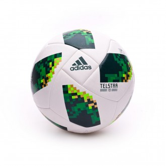 Bola de Futebol  adidas World Cup 18 Mexico Telstar 2017-2018 White-Collegiate green