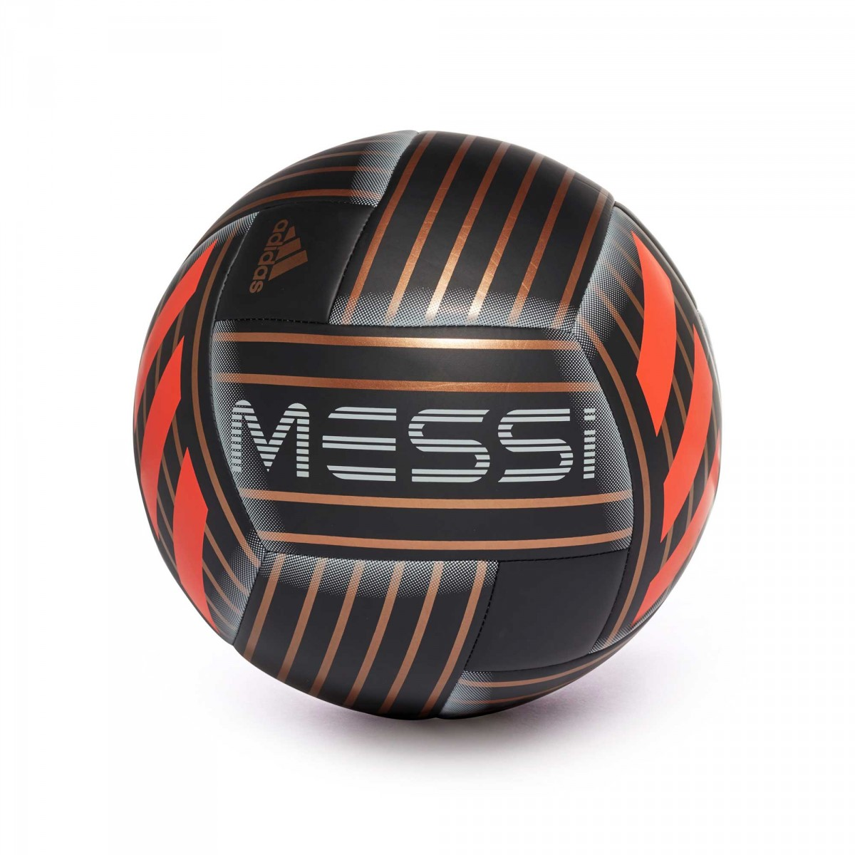 Balón adidas Messi Black-Tactile gold metallic-Solar red ... 9352b4d375294