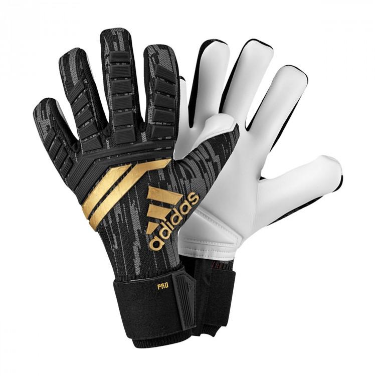 001af598f52e Glove adidas Predator Pro Black-Solar red-Copper gold - Leaked soccer