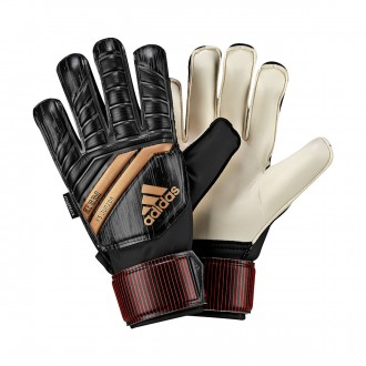 Guante  adidas Predator FingerSave Niño Black-Solar red-Copper gold