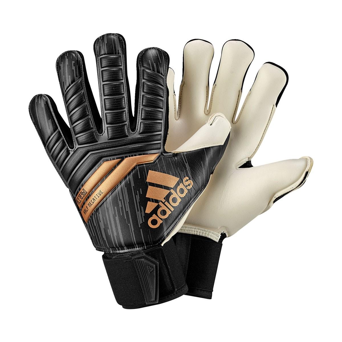 Guanti adidas Predator Half Negative Black-Solar red-Copper gold - Negozio  di calcio Fútbol Emotion b0b4223894e5