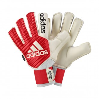 Luvas  adidas Classic Fingersave Real coral-White