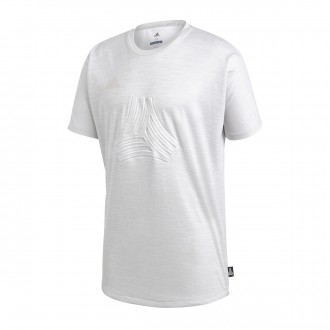 Camiseta  adidas Tango Terry Light grey heather