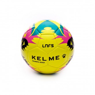 Balón  Kelme Olimpo Gold Replica LNFS 2017-2018 Amarillo