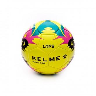 Ballon  Kelme Olimpo Gold Replica LNFS 2017-2018 Jaune