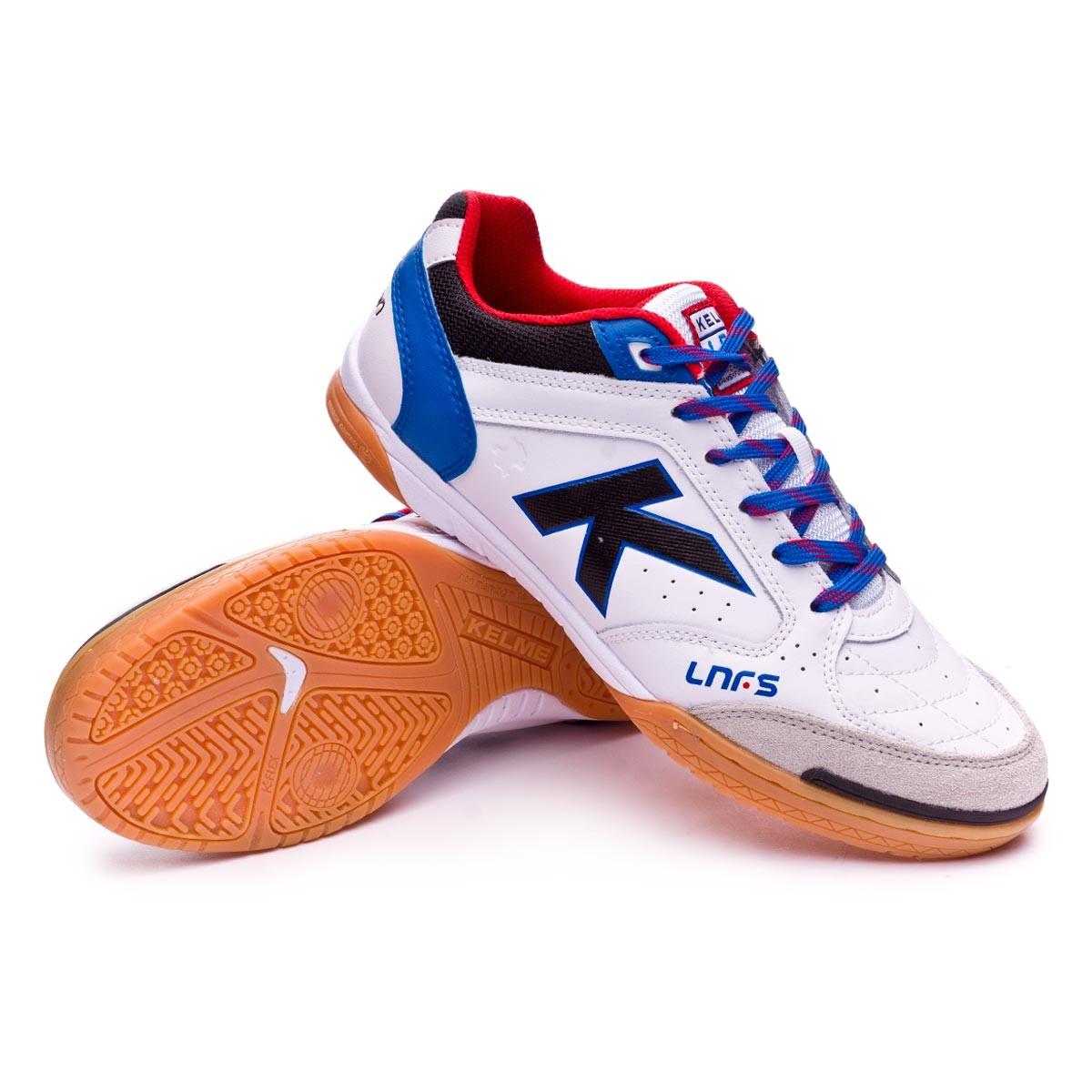 61d7b9492 Futsal Boot Kelme Precision LNFS Leather White - Football store Fútbol  Emotion