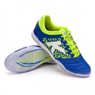 Sapatilha de Futsal  Kelme Subito 6.0 Azul eléctrico