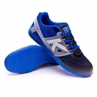 Sapatilha de Futsal  Kelme Subito Knit Preto-Azul