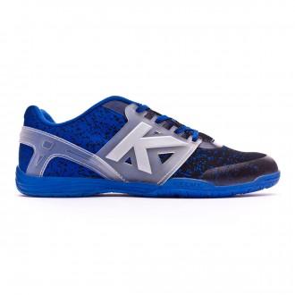 Futsal Boot  Kelme Subito Knit Black-Azul