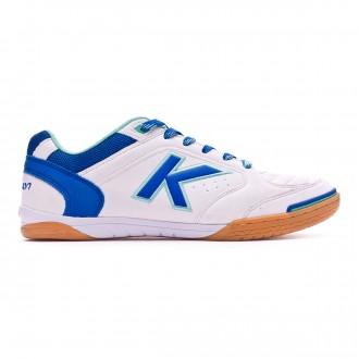 Futsal Boot  Kelme Precision White-Royal
