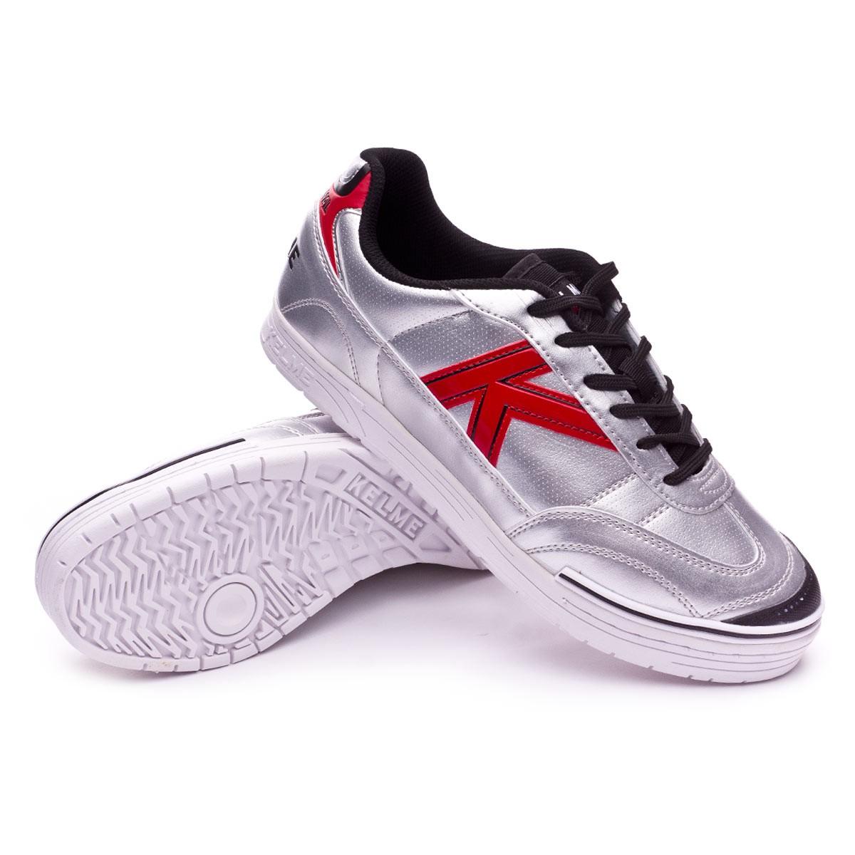 053cd2007ce Futsal Boot Kelme Trueno Sala S Silver - Football store Fútbol Emotion