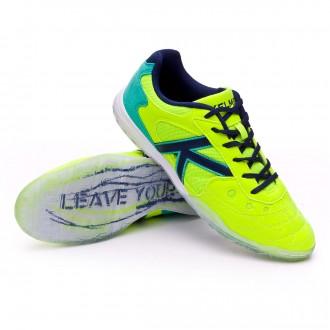 Futsal Boot  Kelme Indoor Copa Edition Lime