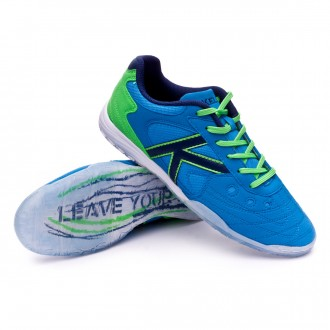 Futsal Boot  Kelme Indoor Copa Edition Blue-Green