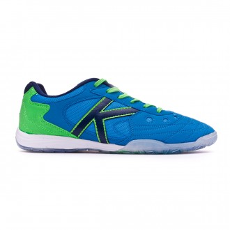 Zapatilla  Kelme Indoor Copa Edition Azul-Verde