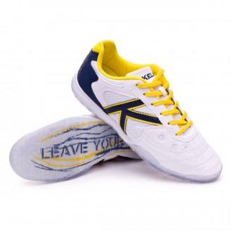 Futsal Boot  Kelme Indoor Copa Edition White-Indigo