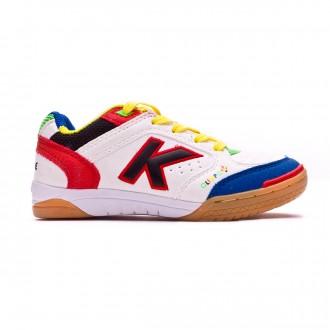 Futsal Boot  Kelme Kids Olimpo White