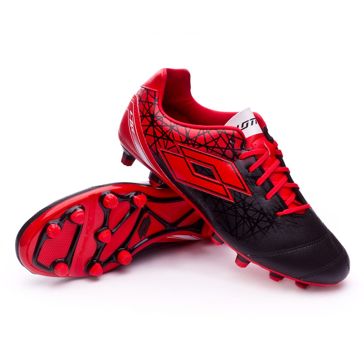 reputable site 821c7 14e74 Football Boots Lotto Zhero Gravity 700 X FG Black-Red - Football store  Fútbol Emotion