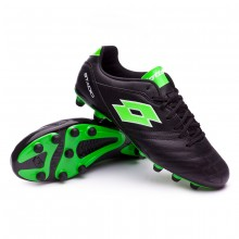 Football Boots Stadio 300 II FG Black-Mint