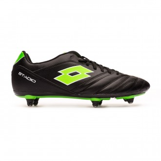 Chuteira  Lotto Stadio 300 II SG6 Black-Mint