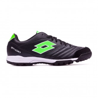 Zapatilla  Lotto Stadio 300 II Turf Black-Mint