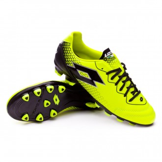 Chuteira  Lotto Spider 700 XV FG Yellow safety-Black