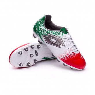 Chuteira  Lotto Zhero Gravity 700 X FG Niño White-Tit grey