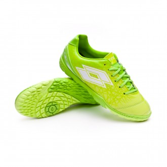 Football Boot  Lotto Kids Zhero Gravity 700 X Turf Green-White