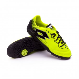 Zapatilla  Lotto Spider 700 XV Turf Niño Yellow safety-Black