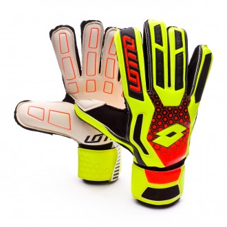 Guante  Lotto Spider 100 Yellow safety-Fantasy