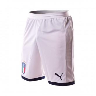 Pantalón corto  Puma Italia Primera Equipación 2017-2018 White