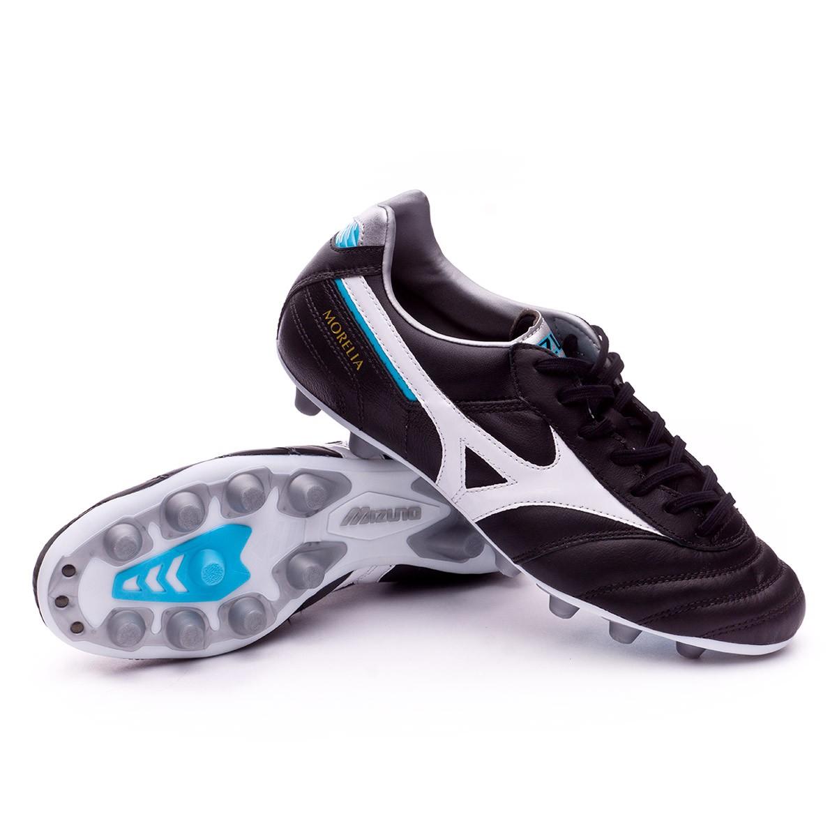 0506c0ecee059 Football Boots Mizuno Morelia II MD Black-White-Blue atomic - Tienda ...