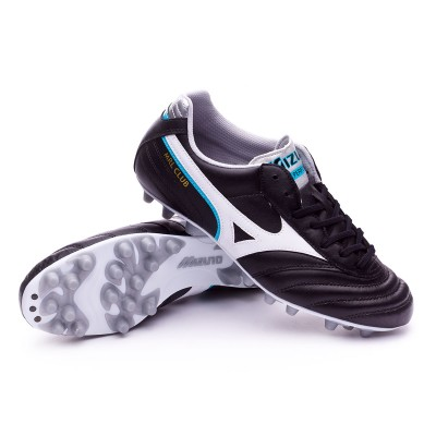 Boot Mizuno Morelia Club 24 Black-White-Blue atomic - Football store Fútbol  Emotion 0835502828572