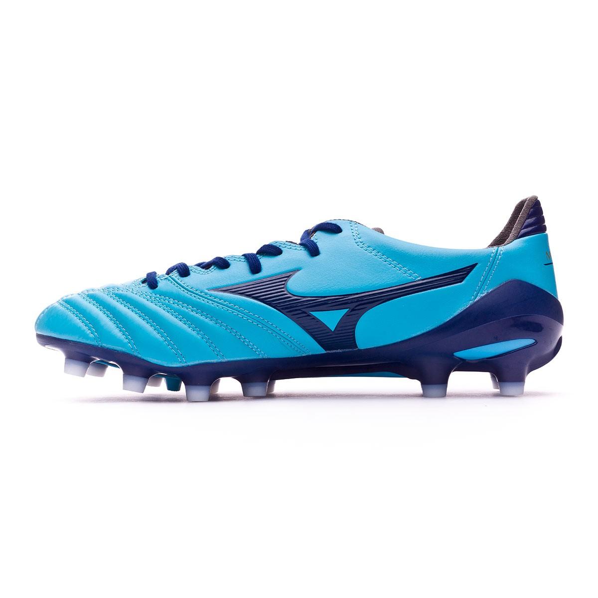 d53bfced193a5 Zapatos de fútbol Mizuno Morelia NEO II MD Blue atomic-Blue depth - Tienda de  fútbol Fútbol Emotion
