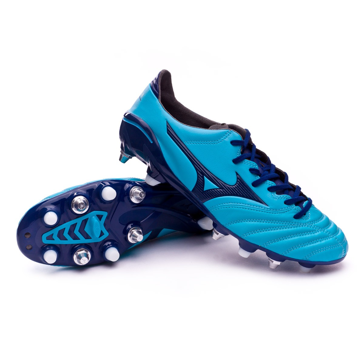 1a7d76a257 Boot Mizuno Morelia NEO II MIX Blue Atomic-Blue depth - Football ...