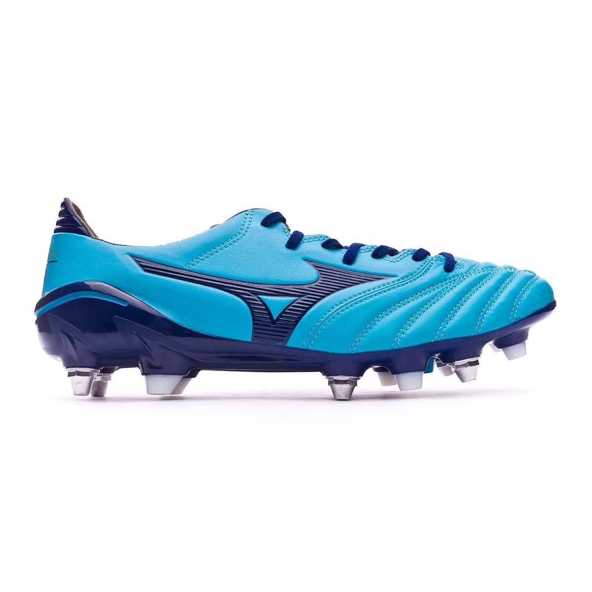 best sneakers e10e4 773ac Bota Morelia NEO II MIX Blue Atomic-Blue depth