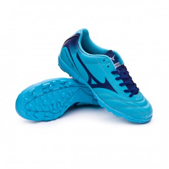 Football Boot  Mizuno Kids Monarcida NEO AS Blue atomic-Blue depth