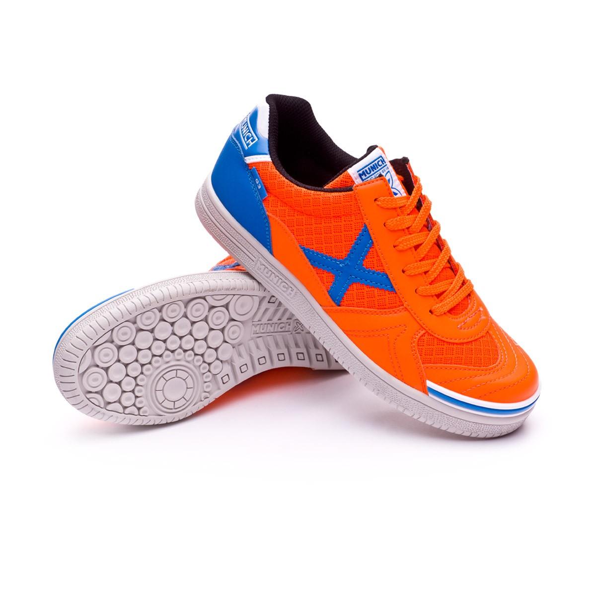 Leaked Zapatilla G3 Munich Naranja Niño Soccer Azul nqqaCXR