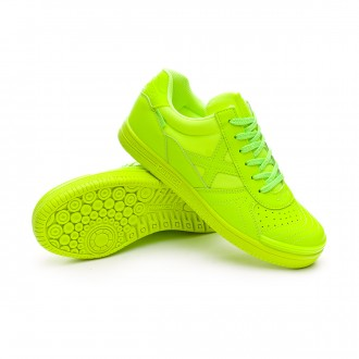 Futsal Boot  Munich Kids G3 Monochrome Lime