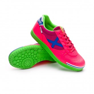 Futsal Boot  Munich Kids G3 Shine  Rosa flúor