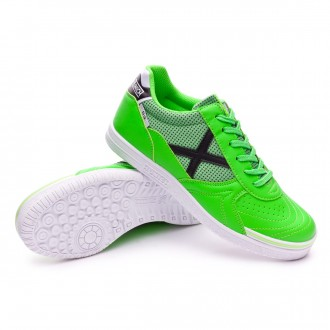 Futsal Boot  Munich Kids G3 Shine  Green-Black