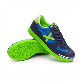 Futsal Boot  Munich Kids G3 Breath  Blue-Green