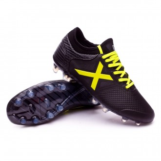 Football Boots  Munich Tiga Black-Yellow