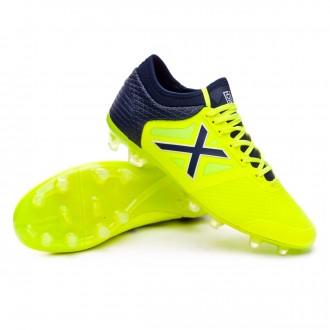 Boot  Munich Tiga Lime-Navy blue