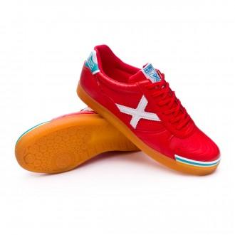 Sapatilha de Futsal  Munich G3 Profit Vermelho