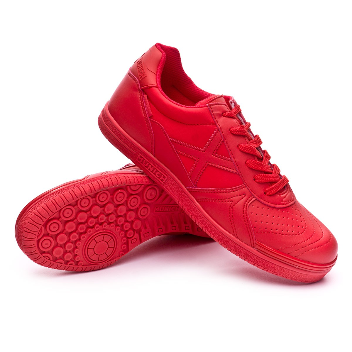 Futsal Boot Munich G3 Monochrome Red - Soloporteros es ahora Fútbol ... c2d2938b7