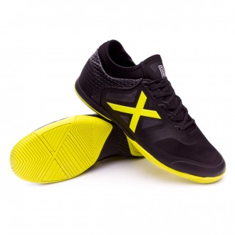 Futsal Boot  Munich Tiga Black-Yellow